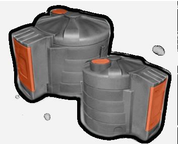 Zbiorniki na olej napędowy z systemem kontroli paliwa