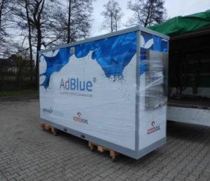 Kontener AdBlue - transport