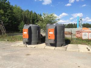 Zbiorniki Kingspan na olej napędowy